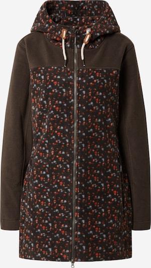 G.I.G.A. DX by killtec Functionele fleece jas in de kleur Donkerbruin / Gemengde kleuren, Productweergave