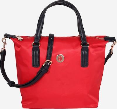 TOMMY HILFIGER Ročna torbica 'POPPY SMALL TOTE' | rdeča / črna barva, Prikaz izdelka