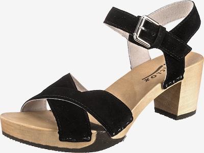 SOFTCLOX Rebekka Klassische Sandaletten in schwarz, Produktansicht