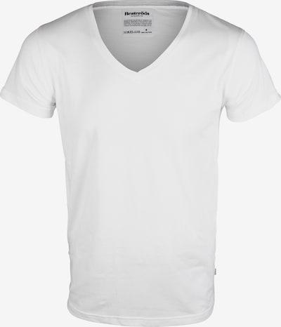 Resteröds T-Shirt 'No.4' in weiß, Produktansicht