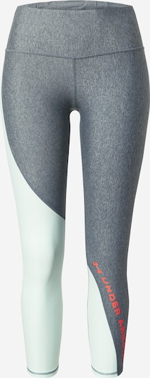 UNDER ARMOUR Leggings in opal / dunkelgrau / orangerot, Produktansicht