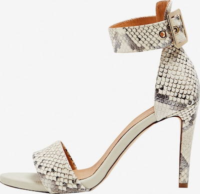 faina Sandalette in grau / weiß, Produktansicht