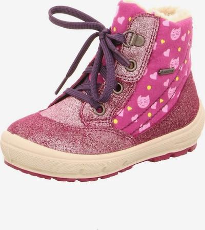 SUPERFIT Stiefel in lila / pink, Produktansicht