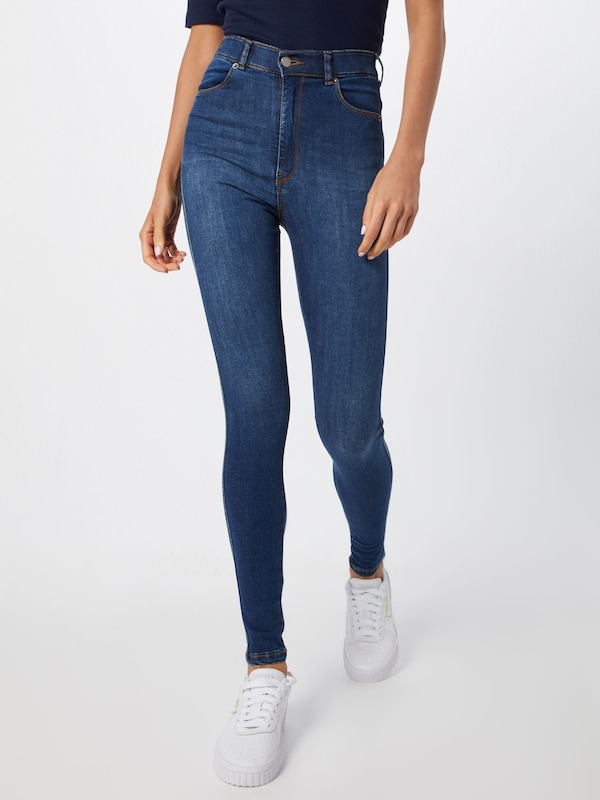Dr. Denim Jeans 'Moxy' in blue denim: Frontalansicht