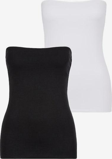 BEACH TIME Top - černá / bílá, Produkt
