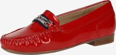 ARA Mocassins in de kleur Rood, Productweergave