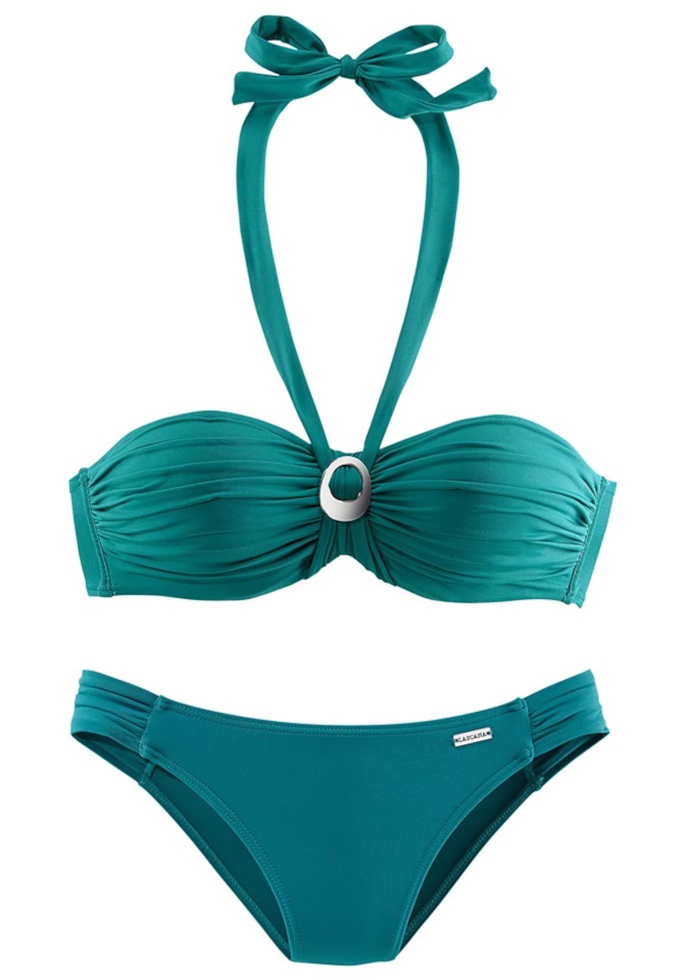 LASCANA Bügel-Bandeau-Bikini Billige Eastbay IqdeE8izz