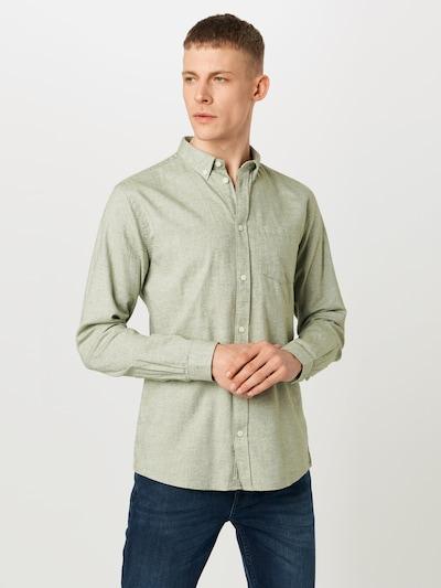 minimum Hemd 'jay 2.0 0063' in grün, Modelansicht