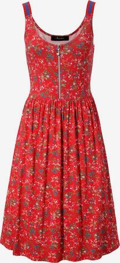 Aniston CASUAL Sommerkleid in blau / rot / weiß, Produktansicht