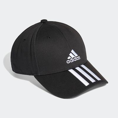 Sportinė kepurė iš ADIDAS PERFORMANCE , spalva - juoda / balta, Prekių apžvalga