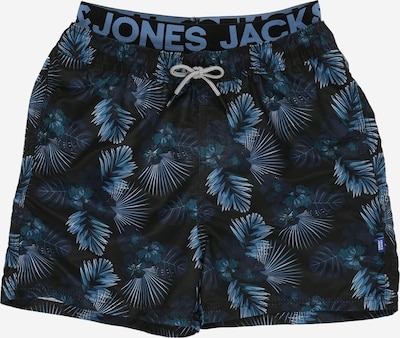 Șorturi de baie 'Aruba' Jack & Jones Junior pe negru, Vizualizare produs