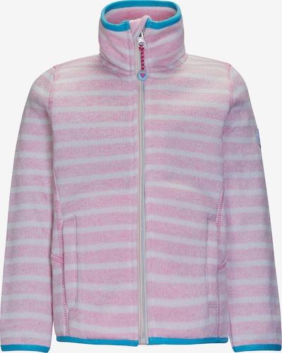 KILLTEC Strickjacke in blau / rosa / weiß, Produktansicht