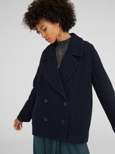 EDITED Płaszcz przejściowy 'Leytun' w kolorze niebieski / ciemny niebieskim, Podgląd na modelu(-ce)