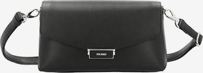 Picard Umhängetasche in schwarz: Frontalansicht