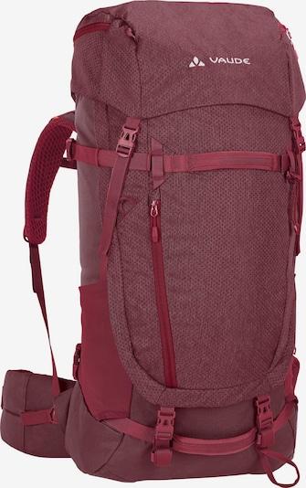 VAUDE Trekkingrucksack 'Astrum Evo' in burgunder, Produktansicht