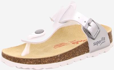 Sandalai iš SUPERFIT , spalva - Sidabras / perlų balta, Prekių apžvalga