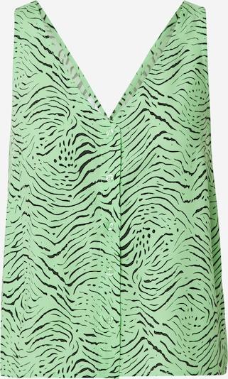 Camicia da donna 'Kendra' EDITED di colore verde erba / nero, Visualizzazione prodotti