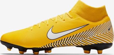 NIKE Fußballschuh 'Mercurial' in gelb / schwarz / weiß: Frontalansicht