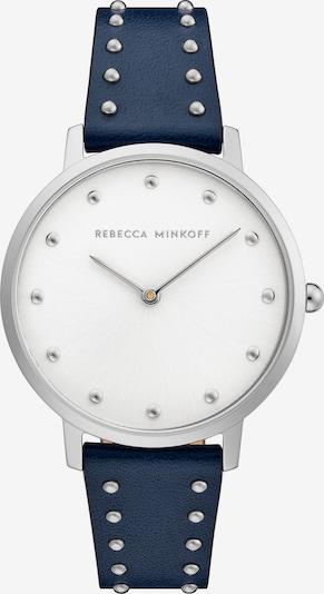 Rebecca Minkoff Uhr in navy / silber / weiß, Produktansicht