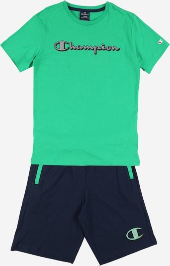 Champion Authentic Athletic Apparel Set en vert gazon: Vue de face