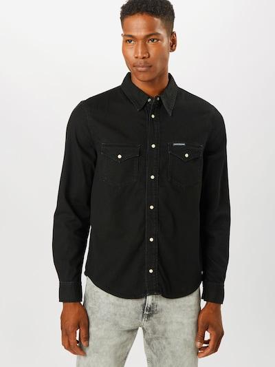 Calvin Klein Košile 'MODERN WESTERN' - černá, Model/ka