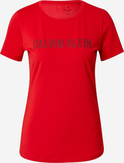 Calvin Klein Performance T-Shirt in rot, Produktansicht
