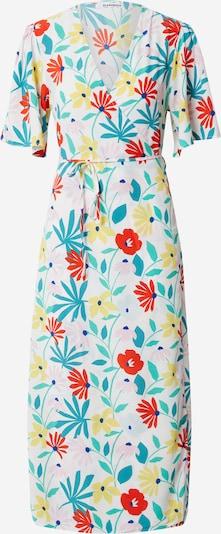 GLAMOROUS Kleid 'LADIES DRESS' in pastellgelb / grün / hellrot / weiß, Produktansicht