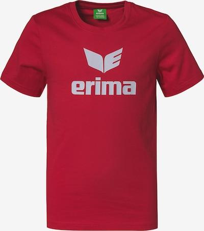ERIMA T-Shirt 'Promo' in rot / weiß, Produktansicht