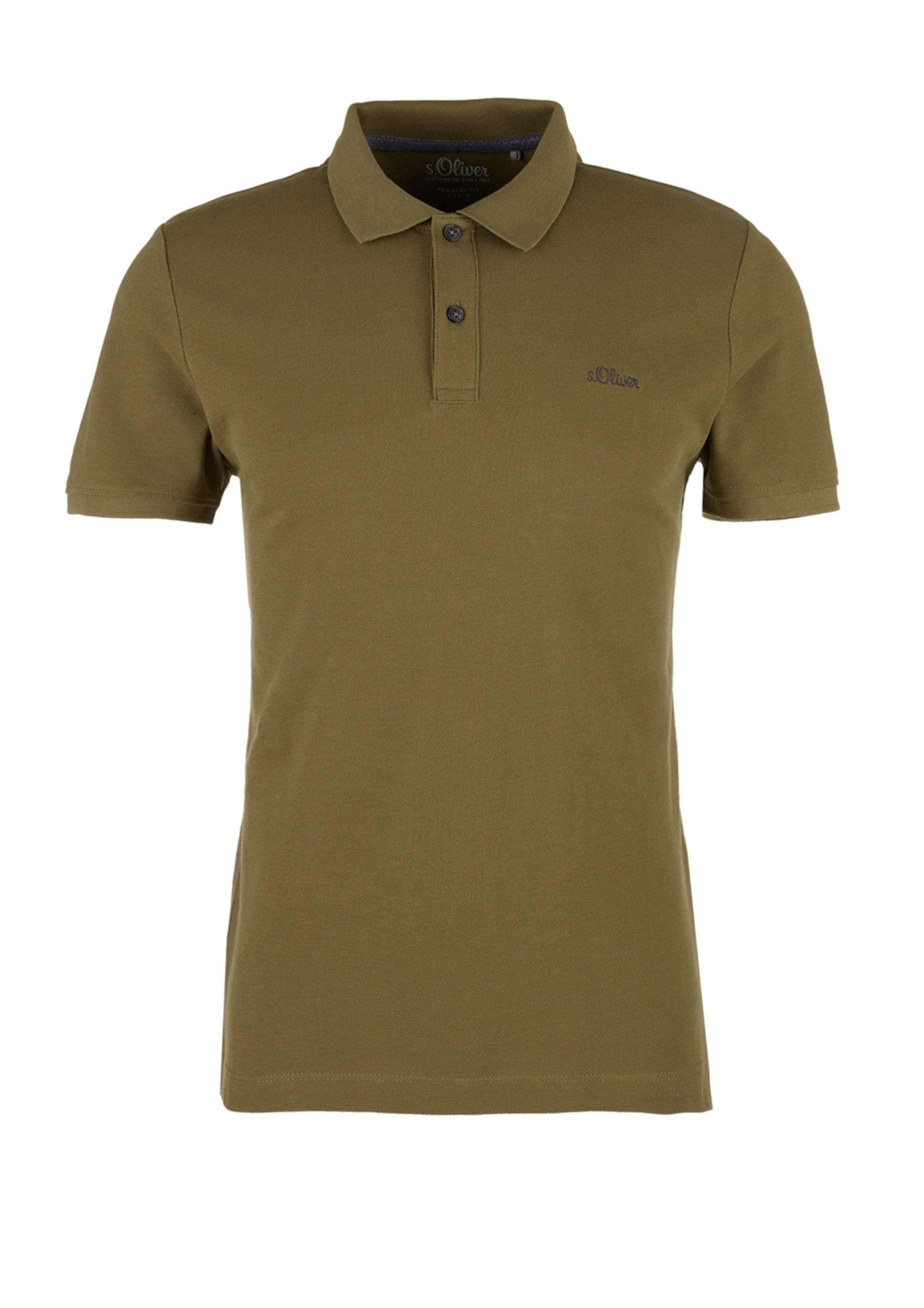 Red In Label oliver Khaki S Poloshirt lFTJ13Kc