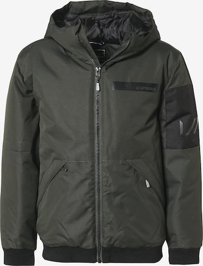 ICEPEAK Übergangsjacke 'Kief' in khaki / schwarz, Produktansicht