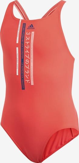 ADIDAS PERFORMANCE Badeanzug in marine / rosa / grenadine / weiß, Produktansicht