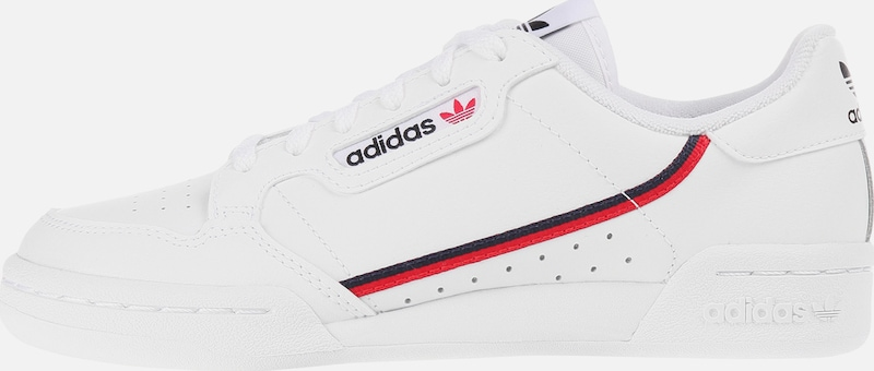 ADIDAS ORIGINALS Sneaker 'Continental 80 J' in weiß | ABOUT YOU