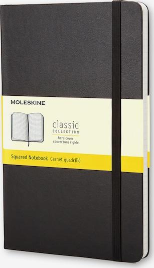 MOLESKINE Notizbücher L/A5- Kariert in schwarz, Produktansicht