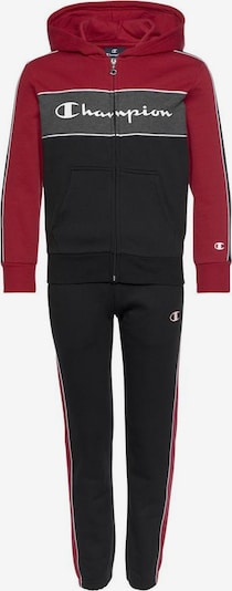 Champion Authentic Athletic Apparel Jogginganzug in schwarz, Produktansicht