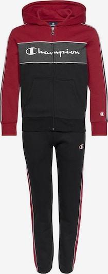 Champion Authentic Athletic Apparel Jogginganzug in schwarz, Produktansicht