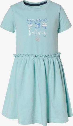 BLUE SEVEN Kleid in hellblau / mint / weiß, Produktansicht