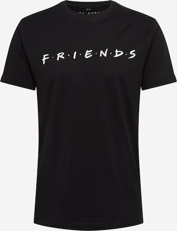 Mister Tee Shirt 'Friends' in Black