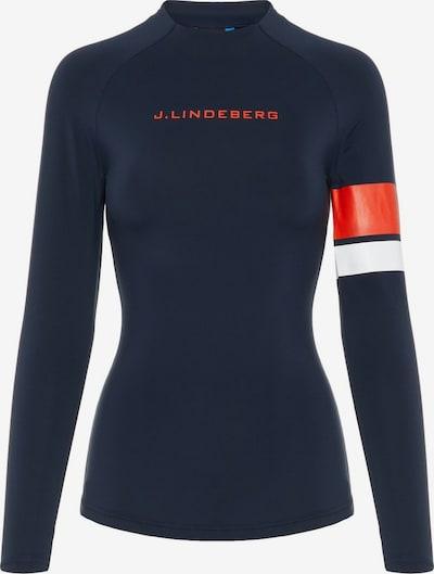 J.Lindeberg Shay Compression Trainingstop in schwarz, Produktansicht
