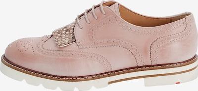 LLOYD Schnürschuhe mit Haferlasche in pink, Produktansicht