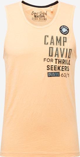 CAMP DAVID Shirt in orange / schwarz, Produktansicht
