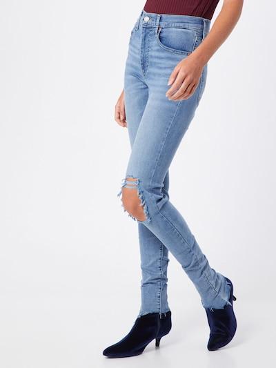 Jeans 'MILE HIGH SUPER SKINNY' LEVI'S pe denim albastru: Privire frontală