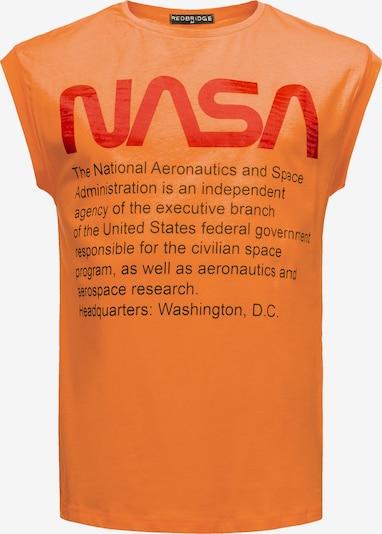 Redbridge Tanktop 'Washington NASA' in orange, Produktansicht
