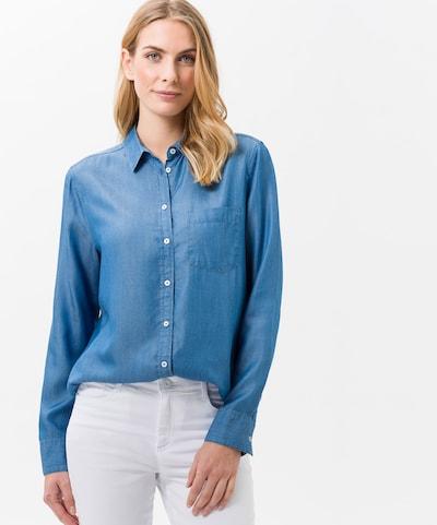 BRAX Bluse 'Victoria' in himmelblau, Modelansicht