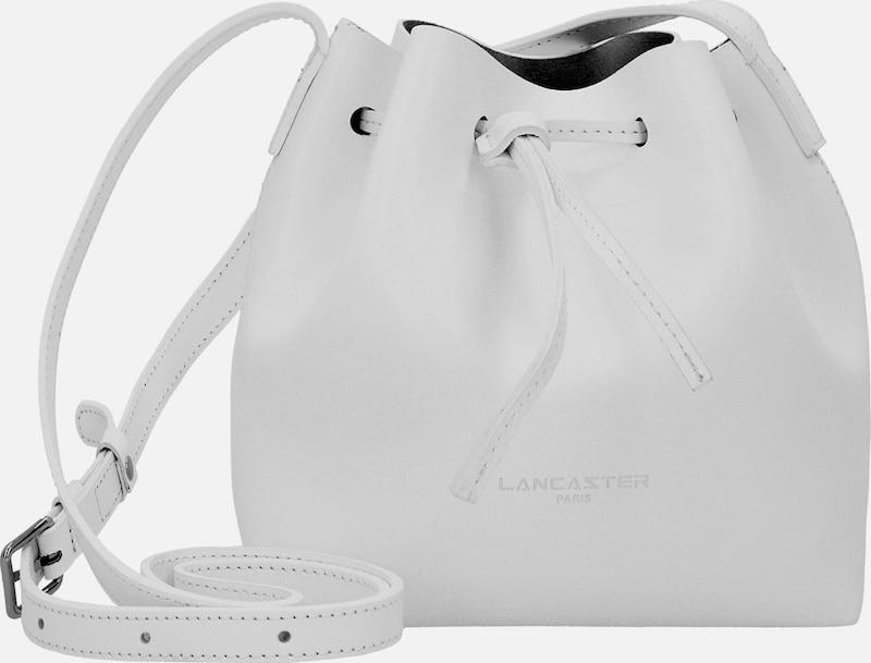LANCASTER 'Pur Smooth Mini Bag' Beutel Umhängetasche Leder 17 cm
