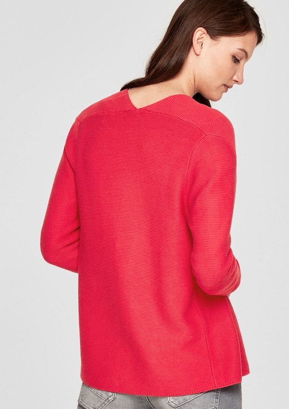 s.Oliver RED LABEL Cardigan mit Strickmuster