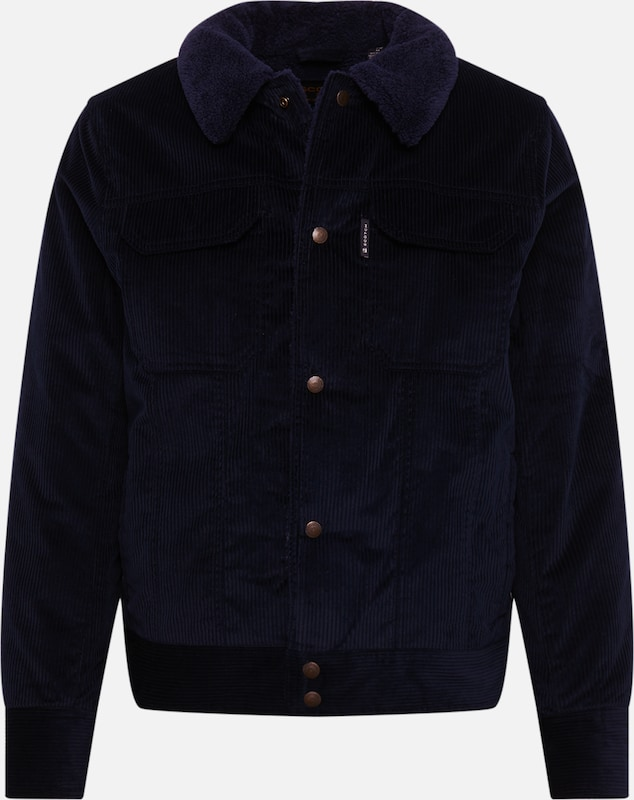 SCOTCH & SODA Jacke 'Corduroy trucker' in navy: Frontalansicht