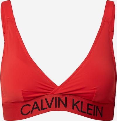 Calvin Klein Swimwear Bikinitop in rot, Produktansicht