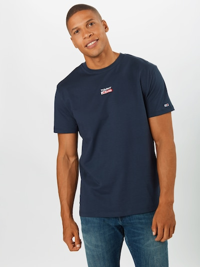 Tommy Jeans T- Shirt in navy, Modelansicht