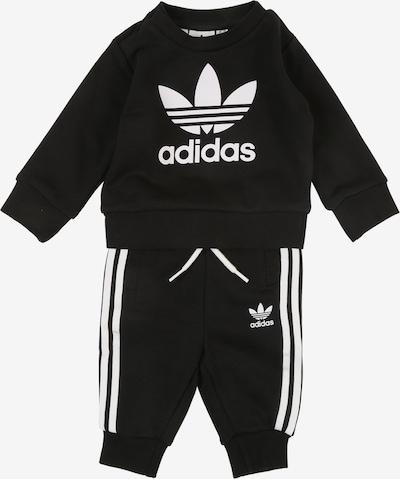 ADIDAS ORIGINALS Jogginganzug in schwarz / weiß, Produktansicht