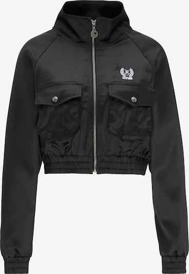 MYMO Jacke in schwarz / weiß, Produktansicht